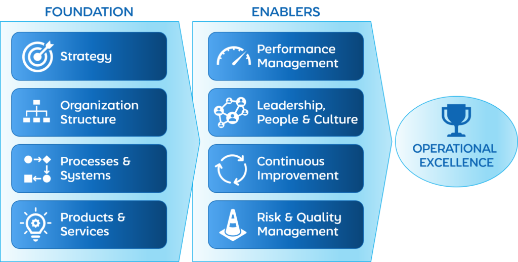 Nearwater Consultancy Operational Excellence Framework